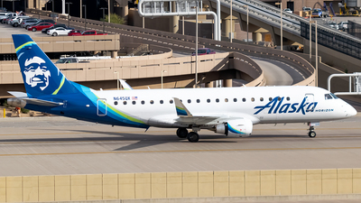 A picture of N645QX - Embraer E175LR - Alaska Airlines - © Ricky Teteris