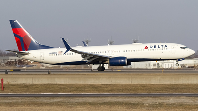 A picture of N834DN - Boeing 737932(ER) - Delta Air Lines - © Jeremy D. Dando