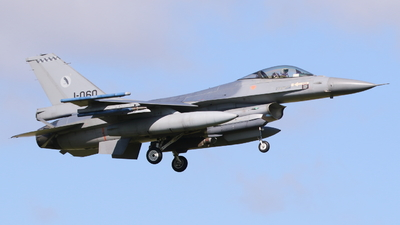 J-060 - General Dynamics F-16AM Fighting Falcon - Netherlands - Royal Air Force