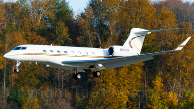 N271DV - Gulfstream G650ER - Private