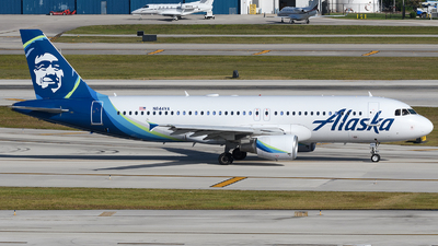 N844VA - Airbus A320-214 - Alaska Airlines