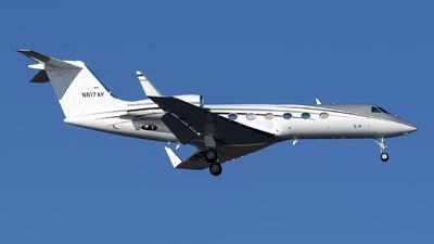 N817AF - Gulfstream G-IV - Private