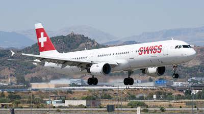 A picture of HBIOD - Airbus A321111 - Swiss - © Fernando Roca