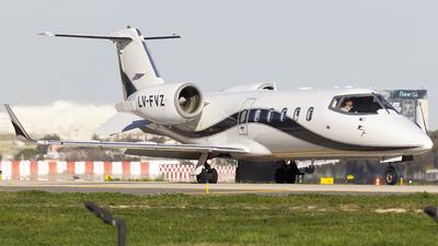 LV-FVZ - Bombardier Learjet 60 - Baires Fly