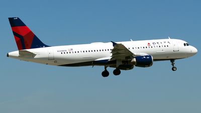 N348NW - Airbus A320-211 - Delta Air Lines