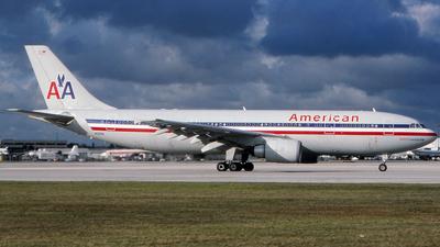 N59081 - Airbus A300B4-605R - American Airlines