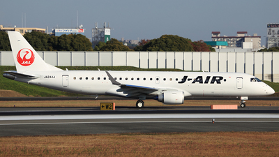 JA244J - Embraer 190-100STD - J-Air