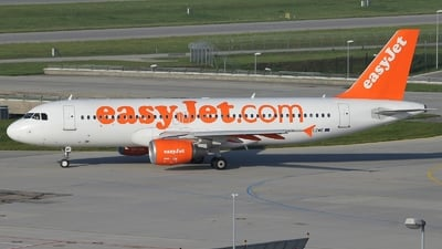 G-EZWE - Airbus A320-214 - easyJet