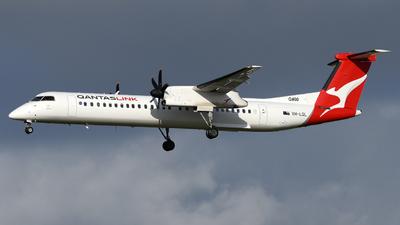 A picture of VHLQL - De Havilland Canada Dash 8400 - QantasLink - © Vicknesh PS