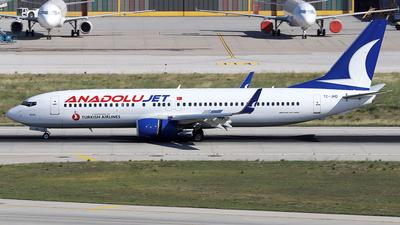 TC-JHD - Boeing 737-8F2 - AnadoluJet