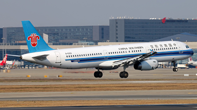 B-6302 - Airbus A321-231 - China Southern Airlines