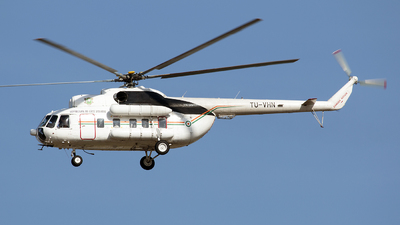 TU-VHN - Mil Mi-8P Hip - Ivory Coast - Air Force