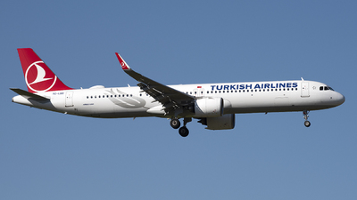 A picture of TCLSO - Airbus A321271NX - Turkish Airlines - © Kurt Kolb