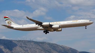 A6-EHE - Airbus A340-642X - Etihad Airways