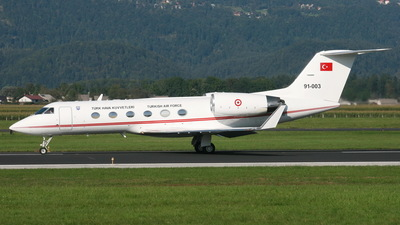 91-003 - Gulfstream G-IV - Turkey - Air Force