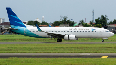 A picture of PKGMX - Boeing 7378U3 - Garuda Indonesia - © Ridho Maulana
