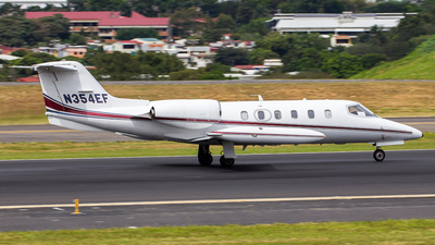 N354EF - Gates Learjet 35A - Private