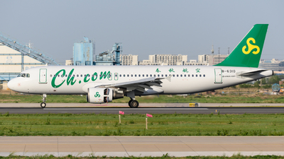 A picture of B6310 - Airbus A320214 - Spring Airlines - © Eric Xiao