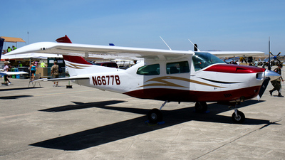 N6677B - Cessna T210M Turbo Centurion II - Private
