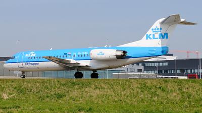 PH-WXC - Fokker 70 - KLM Cityhopper