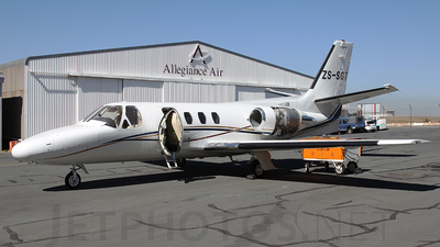 ZS-SGT - Cessna 500 Citation - Private