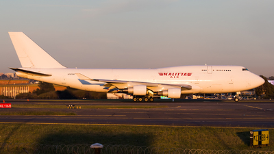A picture of N707CK - Boeing 7474B5(BCF) - Kalitta Air - © Rory Delaney