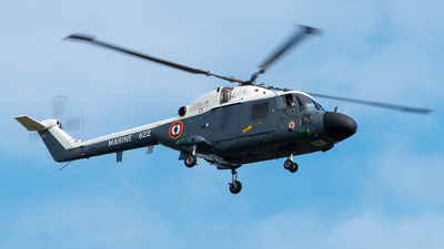 622 - Westland WG-13 Super Lynx Mk100 - France - Navy