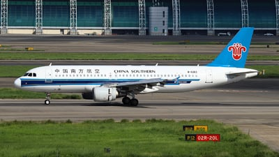 B-6263 - Airbus A320-214 - China Southern Airlines
