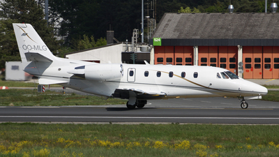 OO-MLG - Cessna 560XL Citation Excel - Luxaviation