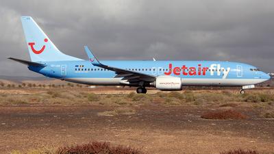 OO-JAQ - Boeing 737-8K5 - Jetairfly