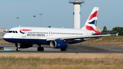G-EUUX - Airbus A320-232 - British Airways