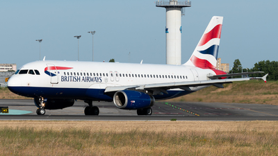 A picture of GEUUX - Airbus A320232 - British Airways - © Aaron Vancoillie