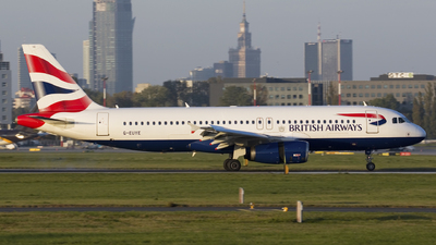 G-EUYE - Airbus A320-232 - British Airways