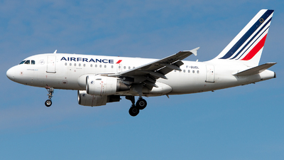 A picture of FGUGL - Airbus A318111 - Air France - © GoldenWingPix