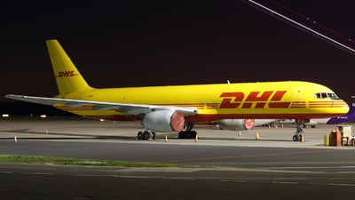 A picture of GBIKP - Boeing 757236(SF) - DHL - © Pawel Cieplak