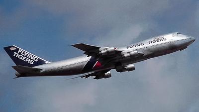 N804FT - Boeing 747-132(SF) - Flying Tigers