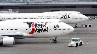 JA8915 - Boeing 747-446 - Japan Airlines (JAL)