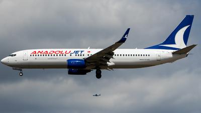 TC-JFC - Boeing 737-8F2 - AnadoluJet