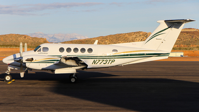 A picture of N773TP - Beech B200 Super King Air - [BB1722] - © C. v. Grinsven