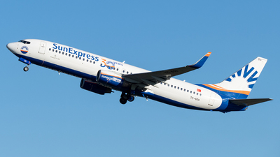 A picture of TCSOU - Boeing 7378Z9 - SunExpress - © marfi80