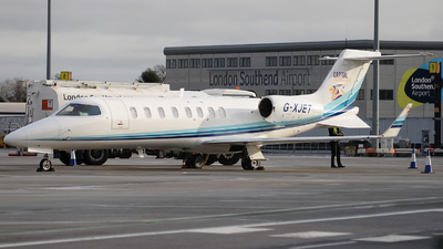 A picture of GXJET - Learjet 45 - Capital Air Ambulance - © David Oates