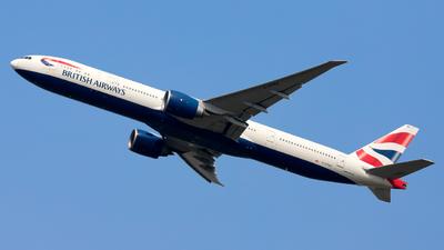 A picture of GSTBA - Boeing 777336(ER) - British Airways - © zwzhou