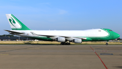 A picture of OOACF - Boeing 7474EVF(ER) - ACE Belgium Freighters - © Helmut Schnichels