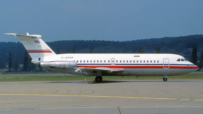 G-AVOF - British Aircraft Corporation BAC 1-11 Series 416EK - British Island Airways
