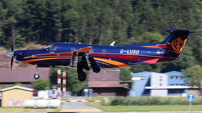 G-LUSO - Pilatus PC-12/47E - Private