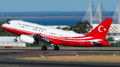 TC-IST - Airbus A319-133(CJ) - Turkey - Government