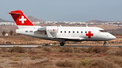 HB-JRB - Bombardier CL-600-2B16 Challenger 604 - REGA - Swiss Air Ambulance