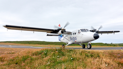 G-BIHO - De Havilland Canada DHC-6-300 Twin Otter - Isles Of Scilly Skybus