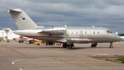 LX-AGA - Bombardier CL-600-2B16 Challenger 605 - Global Jet Luxembourg
