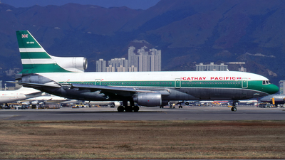 VR-HMV - Lockheed L-1011-1 Tristar - Cathay Pacific Airways